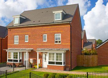 "Thumbnail 4 bed semi-detached house for sale in ""Woodbridge"" at Fen Street, Brooklands, Milton Keynes"