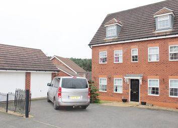 Thumbnail 5 bed detached house for sale in Emmerson Drive, Clipstone Village, Mansfield