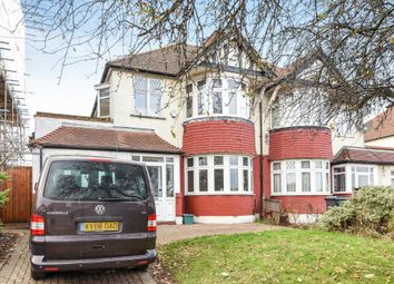 Thumbnail 4 bed semi-detached house for sale in Tolworth Rise North, Surbition