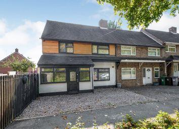 Thumbnail 3 bed end terrace house for sale in Shenton Walk, Kingshurst, Birmingham