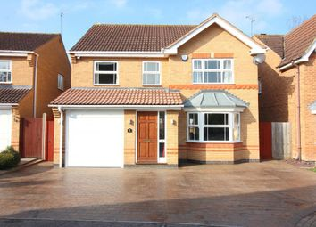 Thumbnail 4 bed detached house for sale in Longcroft Drive, Barton Le Clay, Bedfordshire