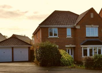 Thumbnail 4 bed detached house for sale in Foxglove Way, Thatcham, West Berkshire