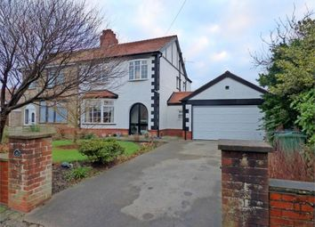 Thumbnail 4 bed semi-detached house for sale in Meadows Avenue, Thornton-Cleveleys, Lancashire