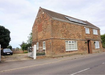 Thumbnail 4 bed detached house for sale in Downham Road, Outwell, Wisbech