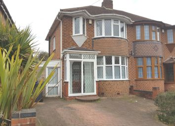 Thumbnail 3 bed semi-detached house to rent in Larne Road, Birmingham