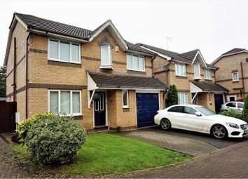 Thumbnail 4 bed detached house for sale in Hillcroft Close, Hanham