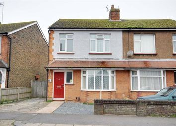 Thumbnail 3 bed semi-detached house for sale in Penfold Road, Broadwater, Worthing, West Sussex