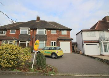 Thumbnail 4 bed property to rent in Highwood Avenue, Solihull