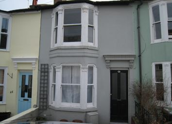 Thumbnail 2 bed terraced house to rent in Hanover Terrace, Brighton