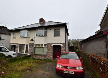 Thumbnail 3 bed semi-detached house for sale in Quarella Road, Bridgend
