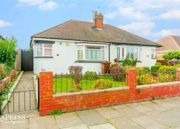 Thumbnail 2 bed semi-detached bungalow for sale in Crowland Avenue, Grimsby, Lincolnshire