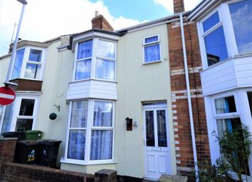 Thumbnail 3 bed terraced house for sale in Ilchester Road, Weymouth