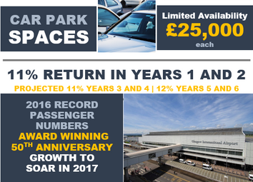 Thumbnail Parking/garage for sale in Glasgow International Airport, Glasgow