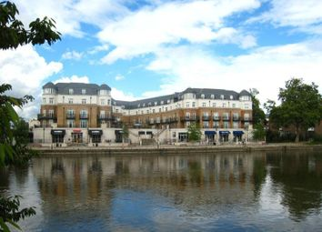 Thumbnail 1 bed flat to rent in Thames Edge Court, Clarence Street, Staines Upon Thames, Middlesex