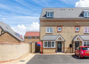Thumbnail 4 bed end terrace house for sale in Willmott Road, Rushden