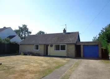 Thumbnail 3 bed bungalow to rent in Suffolk, Herringswell