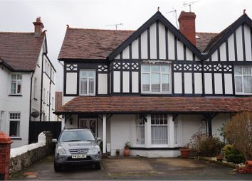 Thumbnail 7 bed semi-detached house for sale in Claremont Road, Llandudno