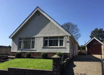 Thumbnail 3 bed detached bungalow for sale in Heol Y Cnap, Treboeth, Swansea