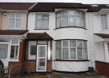 Thumbnail 4 bed terraced house to rent in Cranleigh Gardens, Southall