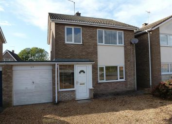 Thumbnail 3 bed detached house to rent in Ramsey Road, Whittlesey, Peterborough
