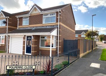 Thumbnail Detached house for sale in Polperro Close, Ryhope, Sunderland