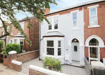 Thumbnail 3 bed semi-detached house for sale in Byron Road, West Bridgford, Nottingham