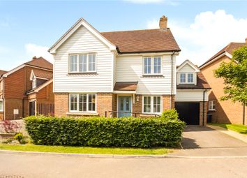 Thumbnail 4 bed detached house for sale in Barncroft Drive, Lindfield, West Sussex
