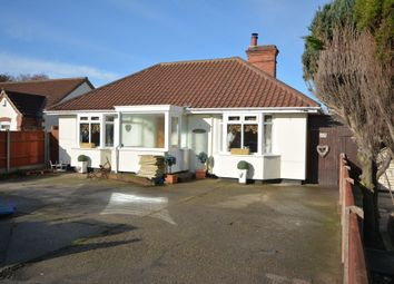 Thumbnail 3 bedroom detached bungalow for sale in Beccles Road, Carlton Colville, Lowestoft