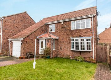 Thumbnail 4 bed detached house for sale in The Paddock, Elwick, Hartlepool