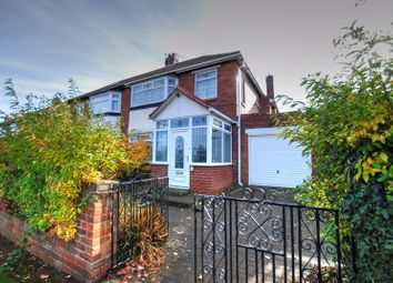 Thumbnail 3 bed semi-detached house for sale in Southwood Gardens, Kenton, Newcastle Upon Tyne