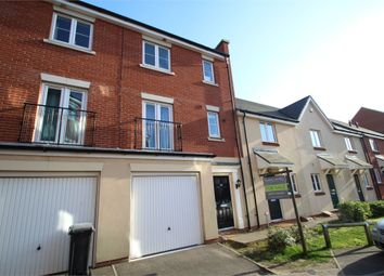 Thumbnail 3 bed town house for sale in Meridian Rise, Ipswich, Suffolk