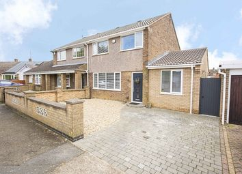 Thumbnail 3 bed semi-detached house for sale in Hood Court, Corby