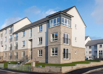 "Thumbnail 2 bedroom flat for sale in Plot 90, Top Floor, ""Cair Apartment"" Castlegate Avenue, Dumbarton"