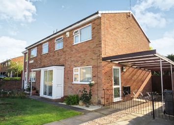 Thumbnail 3 bed semi-detached house for sale in Jennett Close, Thurnby Lodge, Leicester