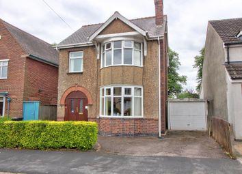 Thumbnail 3 bed detached house for sale in De Montfort Road, Hinckley