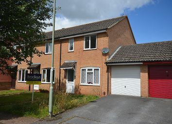 Thumbnail 3 bedroom end terrace house for sale in Sargent Close, Heavitree, Exeter