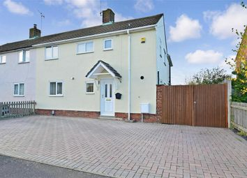 Thumbnail 3 bed semi-detached house for sale in Warwick Road, Kennington, Ashford, Kent
