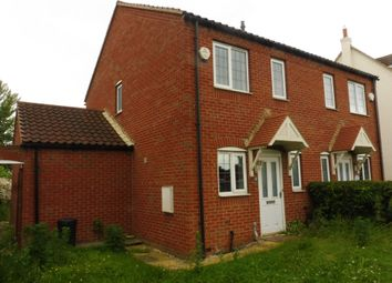 Thumbnail 2 bed semi-detached house for sale in The Old Moorings, Eastoft, Scunthorpe