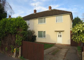 Thumbnail 3 bed semi-detached house for sale in Wood Road, Chaddesden, Derby