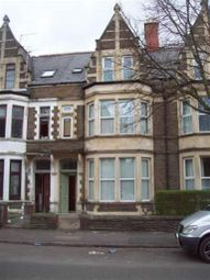 Thumbnail 1 bedroom flat to rent in Marlborough Road, Roath, Cardiff