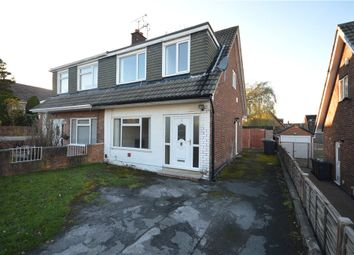 Thumbnail 3 bed semi-detached house for sale in Primley Park Close, Alwoodley, Leeds