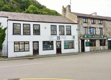 Thumbnail End terrace house for sale in High Street, Bangor