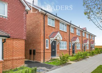 Thumbnail 3 bed end terrace house to rent in Somerset Road, Faygate, Horsham