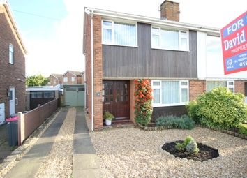 Thumbnail 3 bedroom semi-detached house for sale in Hoades Avenue, Woodsetts, Worksop
