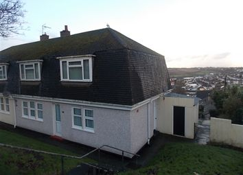 Thumbnail 2 bed flat to rent in Oakfield Road, Falmouth