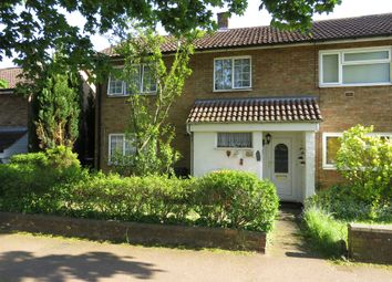 Thumbnail 3 bed end terrace house for sale in Broadwater Crescent, Stevenage