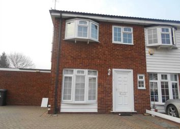 Thumbnail 3 bedroom end terrace house to rent in Whitehouse Avenue, Borehamwood