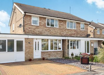 Thumbnail 3 bed semi-detached house for sale in Towning Close, Deeping St. James, Peterborough