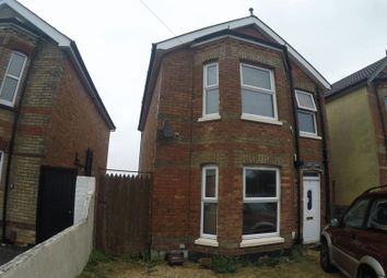 Thumbnail 4 bedroom detached house to rent in Leslie Road, Winton, Bournemouth