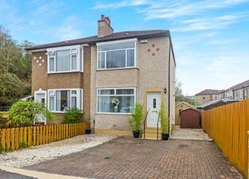 Thumbnail 2 bed semi-detached house for sale in Alyth Gardens, Stamperland, Glasgow